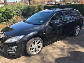 Mazda 6 Estate Black