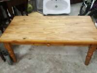 coffee table pine
