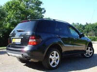 /// MERCEDES BENZ ML320 CDI 4MATIC 3.0 AUTOMATIC DIESEL /// 56 PLATE NEWER SHAPE / SAT NAV 4X4 JEEP