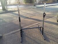 GOLDS GYM SQUAT & WEIGHTS BENCH PRESS STAND