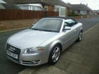 2007 Audi A4 Canvertible 140 Sport