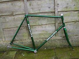 Hewitt audax road bike frame reynolds 531 531c Cinelli lugs - light touring tourer winter