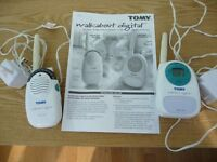 TOMY Walkabout digital baby monitor