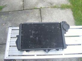 BMW K100 radiator