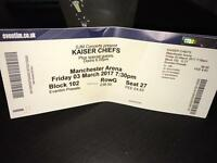 Kaiser chief tickets