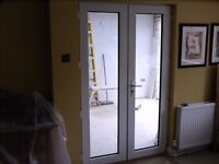 UPVC French Door and Frame - Free to Collector