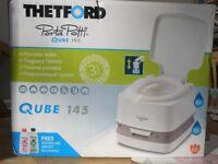 Porta potti for camping: Thetford Qube 145: brand new, never used,