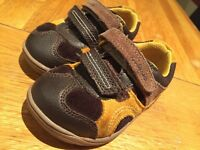 Clarks baby shoes, size 4F
