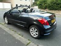 Peugeot 207cc convertible, 51000miles, FSH, 11 months mot, 2 lady owners, great condition.