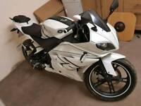 Genata xrz 125 motorbike same as Yamaha yzf125