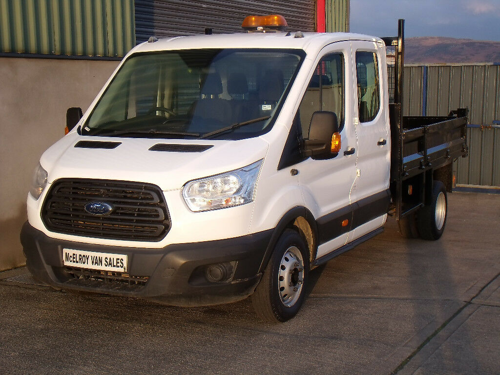 5be945fe0e Ford Transit Crewcab tipper for sale. Newry
