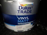 Left over DULUX TRADE VINYL MATT - Jasmine White