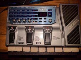 Boss ME-20 guitar effects pedal