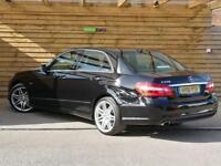 Mercedes-Benz E Class E250 CDI BlueEFFICIENCY Sport 4dr Tip Auto SAT NAV (black) 2011