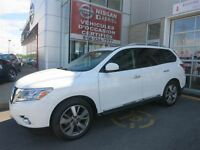 2014 Nissan Pathfinder PLATINUM  DVD, GPS, LEATHER, SUNROOF