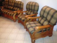 Tartan 3 1 1 Sofa Couch Settee