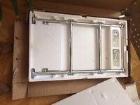 Heated Traditional Chrome Towel Rail Radiator