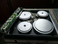 Miele electric Hob Model KM464 spares Heating elements & Control module
