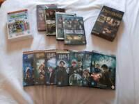Sets of DVDs £10 each