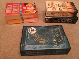 Thrillers Books in Excellent Condition