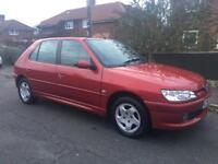PEUGEOT 306 GLX { 38,000 MILES FROM NEW }