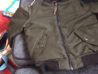 Next khaki bomber jacket aged 3