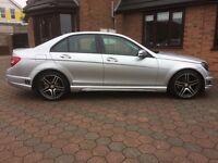 Mercedes c63 amg replica