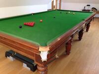 Snooker table thurston