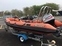 Valiant 5.2m RIB with 75hp Mariner 2-Stroke for Sale
