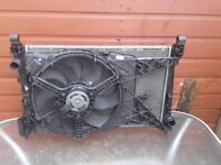 Radiator & Fan Assembly for a Vauxhall Corsa D 2007-14)