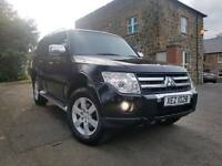 2007 Mitsubishi shogun 3.2 DID Warrior 4x4 7 SEATER! FULL LEATHER,SAT-NAV, F/M/S/H,98K MILES