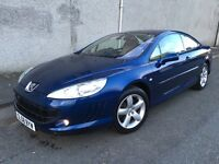 Stunning 2008 58 Peugeot 407 Coupe 2.0Hdi 136 Sport **3 Owners+Full History+Full Heated Leather**