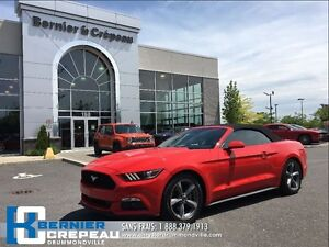 2016 Ford Mustang **CONVERTIBLE+BLUETOOHT+CAMERA DE RECUL+WOW!!