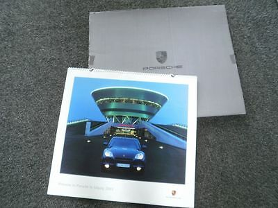 "Original Porsche Wandkalender 2003  ""Welcome to Porsche in Leipzig 2003"""