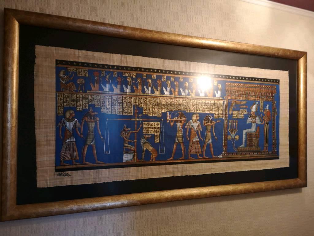 Eygptian Papyrus and Frame | in Dunfermline, Fife | Gumtree