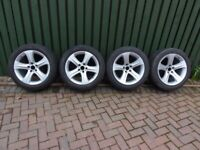 """BMW X6 alloy wheels and winter tyres 19"""""""