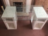 Glass Top Desk / Table