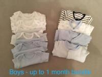 Boys bundle - up to 1 month