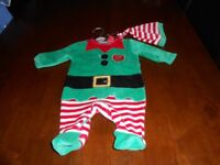 Baby's Elf costume size 0-3 months Brand New