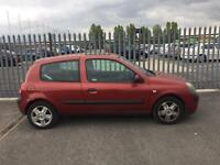 2004 Renault Clio 1,2 litre 3dr 6 months mot