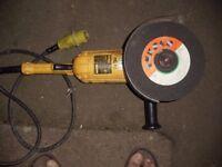 dewalt angle grinder 110v
