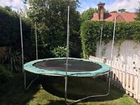 10 Ft Plum Trampoline - Free - Must Collect