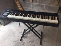 Roland RD64 keyboard including gig bag