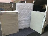 Double divan base and mattress
