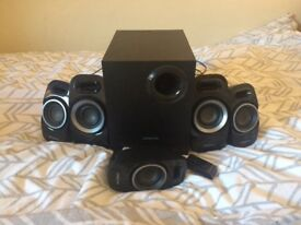 Creative 5.1 T6300 Speakers (Surround Sound with Adjustable Bass)