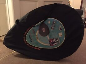2 Pop Up Football Goals (6ft) with Carrying Case