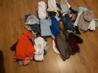Baby boy clothes bundle 0-12 months