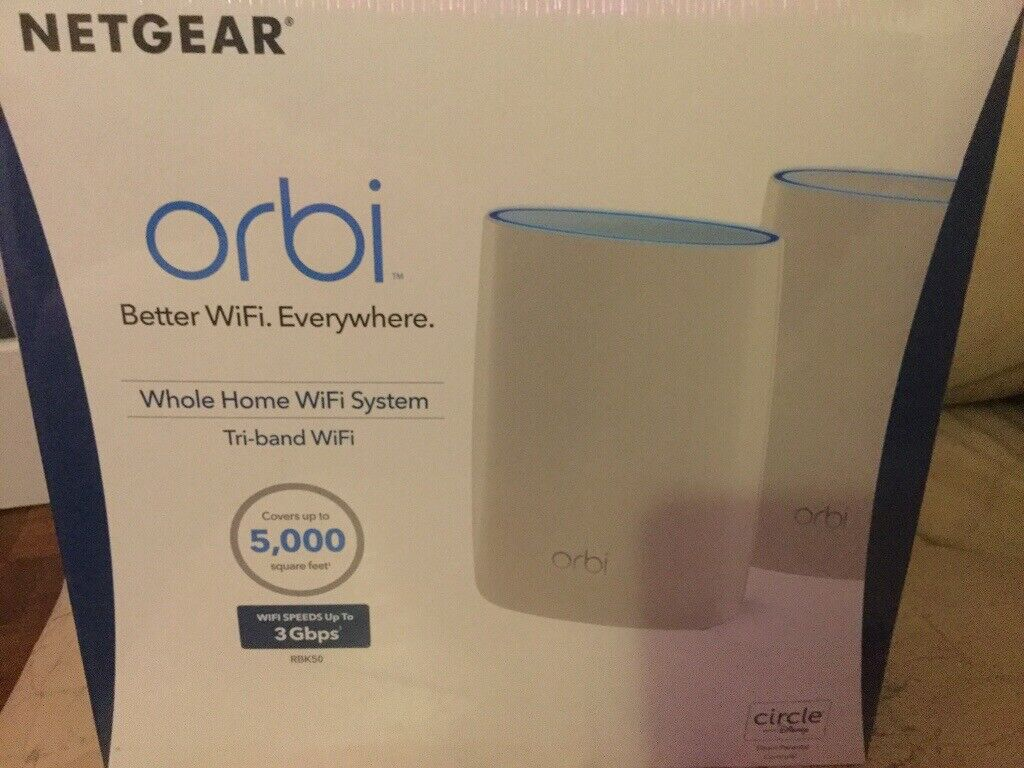 NETGEAR (ORBI) Router and Satellite Network 3 0 Gbps | in Gosport,  Hampshire | Gumtree