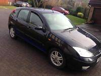 52 FORD FOCUS 1.6 5 DOOR LOW MILES TAXED AND MOTED may swap px