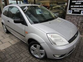 FORD FIESTA 1.4 Zetec 3dr (silver) 2003